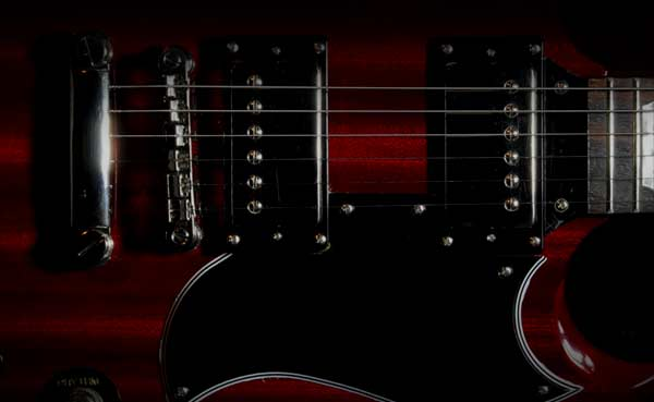 Gibson SG elelctric guitar, free guitar lessons, guitar course