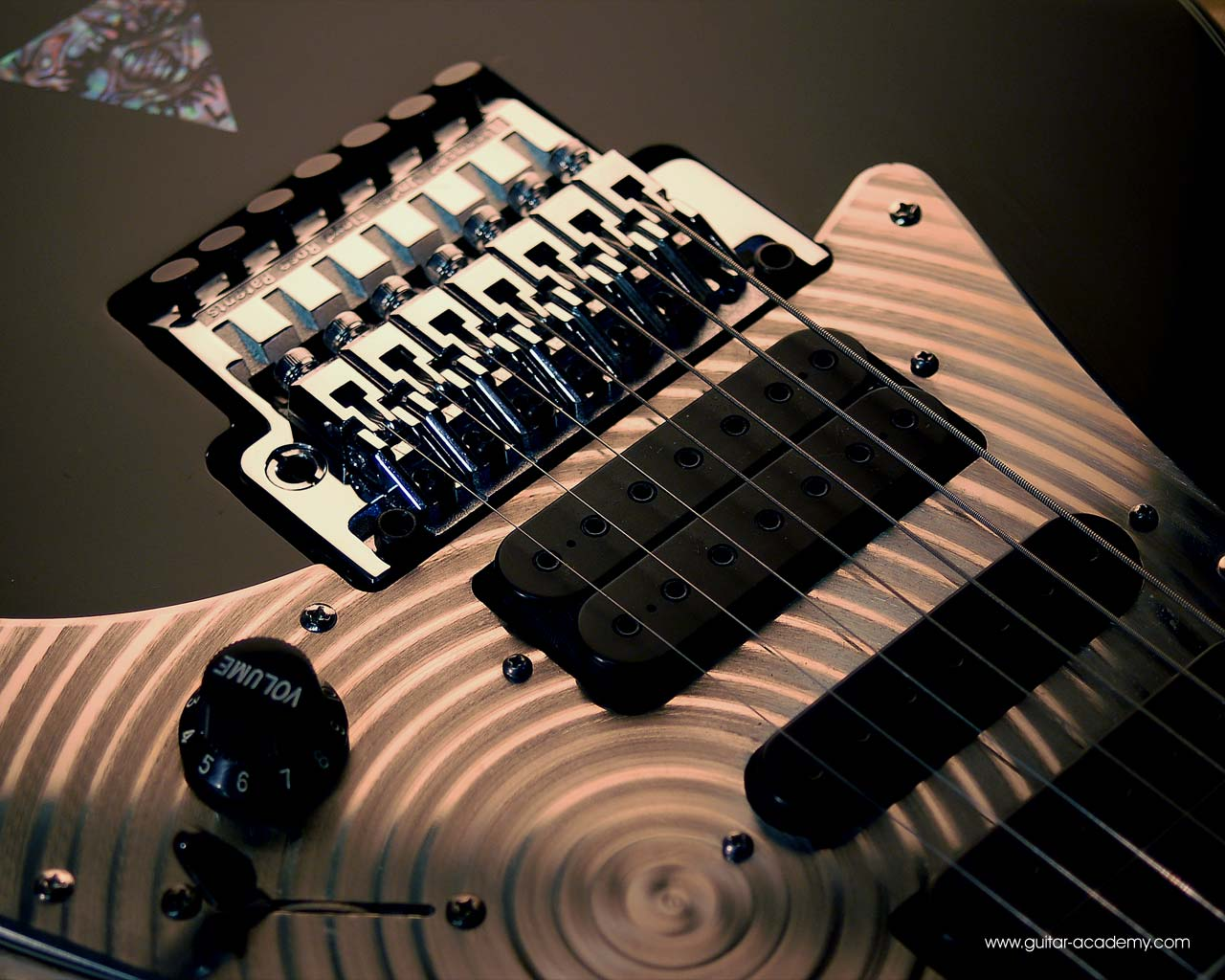 Guitar Wallpaper Ibanez Universe 7 String With Spiral Scratch Plate