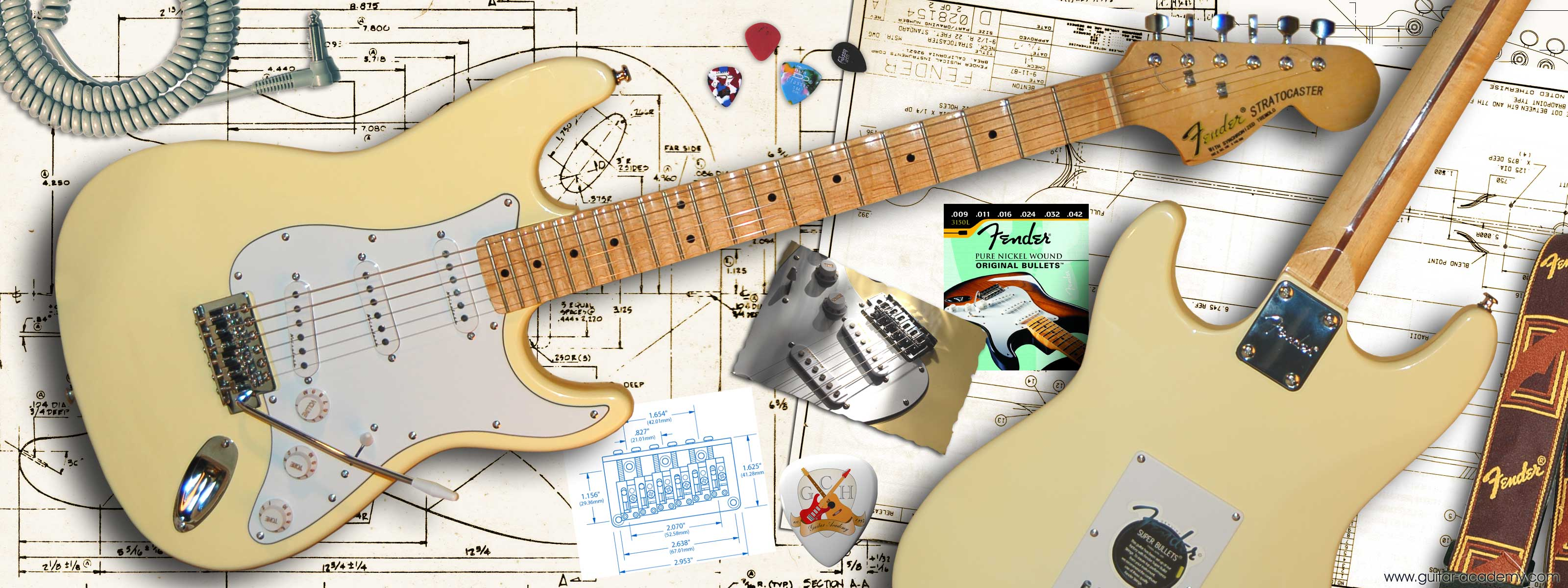 Fantastic Wallpaper Music Dual Monitor - fender-stratocaster  Gallery_195320.jpg