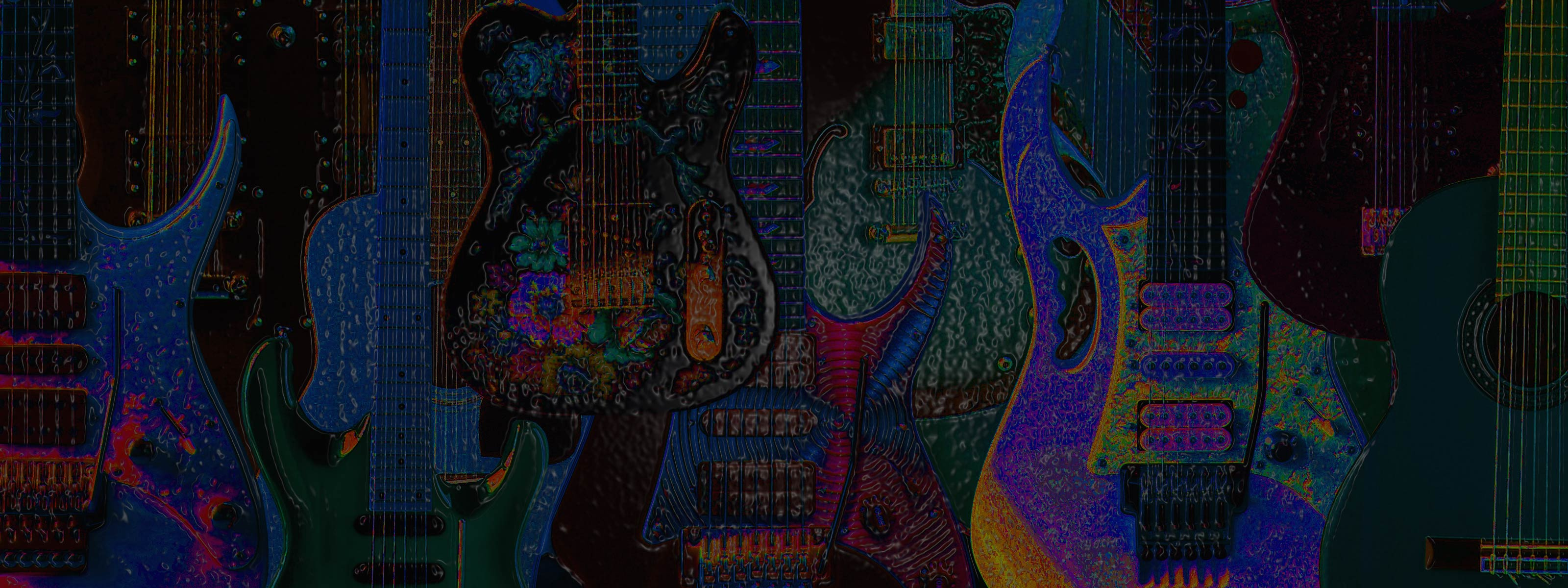 Fantastic Wallpaper Music Dual Monitor - guitars-double-1  Gallery_195320.jpg